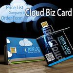 Custom iBiz Cloud Business Card (1 Mm Thin)/ 5 GB Cloud Storage