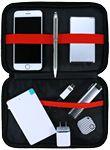 Custom iPack Technology Accessories Organizer (Black)