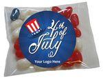 Custom Patriotic Jelly Belly packet