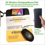Qi Wireless Charging Mouse Pad 4 color process