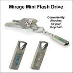 Custom Mirage Mini Flash Drive - 128 MB