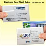 Custom Business Card Flash Drive - 4 GB Memory