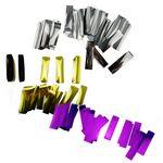 Custom Colorful PVC Flame Retardant Rectangle Confetti