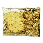 Custom Golden Flame Retardant Square Confetti
