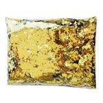 Custom Golden Flame Retardant Square Confetti