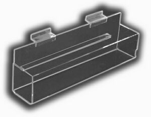 Flat-Bottom J-Shelves w/ End Caps & Back Spacer (2 1/2x48x2 1/4)