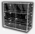 Custom Flat Shelf Knock Down Case W/3 Shelves (23