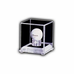 Golf Ball Case with 3/4 Clear Base