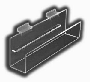 Flat-Bottom J-Shelves W/Back Spacer (2 1/2x24x2 1/4)
