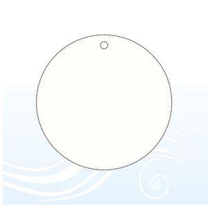Circle 3 inch no Tab car air freshener