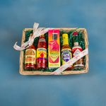 Custom Hot & Spicy Gift Basket