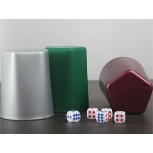 Custom Imprinted Plastic Dice Cups and Shakers!