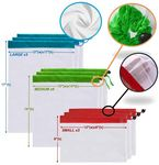 Reusable Produce Bags Sets of 3 sizes