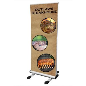 Outdoor Retractable Banner Stand 35 x 82 Outdoor Retractable Banner Stand Lite 35 x 82
