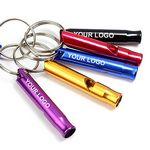 Aluminum Alloy Whistle Keyring