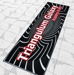 Custom Custom Logo Mats Rubber Backing Standard Large Qty 3x10FT