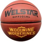 Full Size Synthetic Leather Basketballs - Full Color