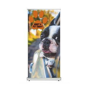 Style Retractable Banner Stand