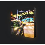 Custom Luminous Portable Backlit Wall 8FT SINGLE SIDE