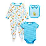 Custom Baby 3pc Cotton Sleep N Play Set - Roarsome