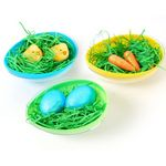 Custom Easter Eggs Decoration and Grass