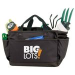 Custom Deluxe Gardening Tote Bag - Black
