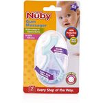 Custom Nuby Silicone Toothbrush Gum Massager