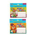 Custom 12 count Happy Birthday Certificates, 2 styles per case
