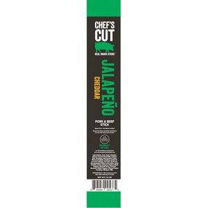 Chefs Cut Snack Sticks Jalapeno Cheddar 1oz