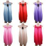 Custom Women's Sleeveless Lace Detail Nightgown