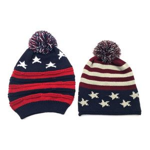 Usa Knit Winter Hat - 2125454 - IdeaStage Promotional Products 7c765c1f214