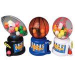 Custom Sports Gumball Machines with Gum