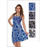 Custom Women's Sundresses - Ornate Printed - Sizes M-XXL