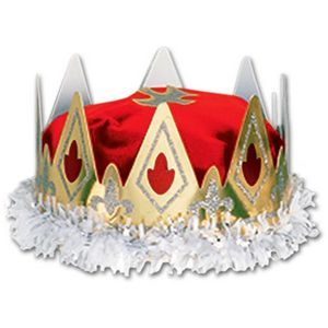 Royal Queen'S Crown - Red