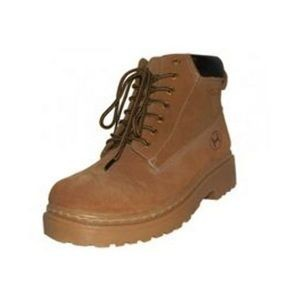Men's Suede Insulated Work Boots - Tan (Size 9-13)