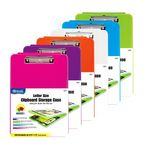BAZIC Translucent Clipboard Storage Case