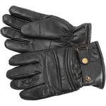 Custom Diamond Plate Solid Genuine Goat Leather Motorcycle Glove - Medium