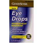 Custom GoodSense Eye Drops Advanced Relief Moisturizer .5 oz