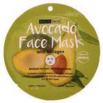 Custom Beauty Treats Avocado Face Shee Mask with Collagen