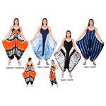 Custom Women's Tie Dye Harem Jumpsuits
