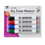 Custom Barrel Style Dry Erase Marker - Assorted Colors