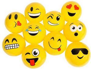 Custom 5 Yellow Emoji Vinyl Ball