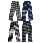 Custom Men's Plaid Flannel Sleep Pants - Size 2XL