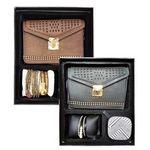 Custom Girl's Gift Set - Mini Purse, Bracelet, Bluetooth Speaker