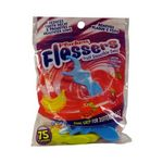 Custom Plackers Flossers For Kids, Fruit Smoothie Swirl 75 CT