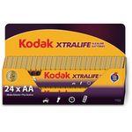 Custom Kodak Xtralife AA 24 Pack Long Pack