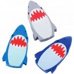 Shark Erasers - 216 Count, Single, 3 Colors (Case of 18)