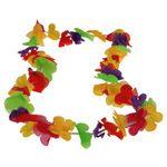 Custom Hawaiian Lotus Leis Rainbow