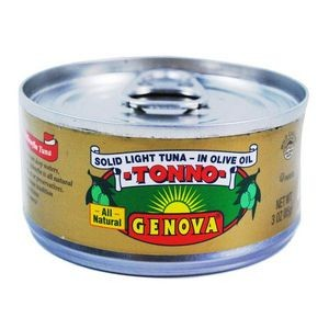 Genova Tonno solid light tuna in olive oil