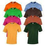 Custom Gildan Irregular Youth T-Shirt - Assorted Colors - Size XSmall (Case o